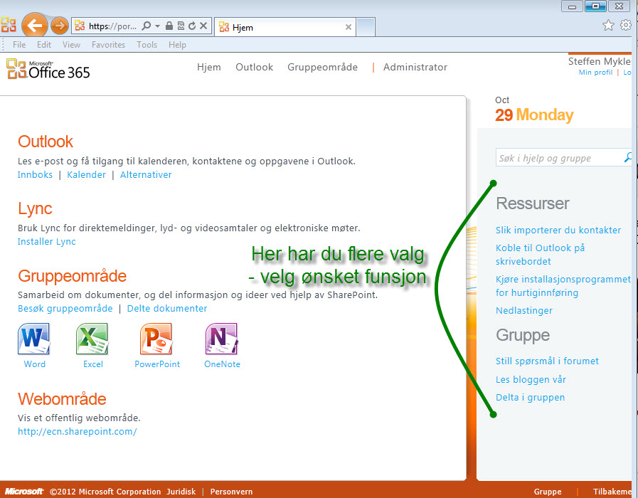 Office365-klient